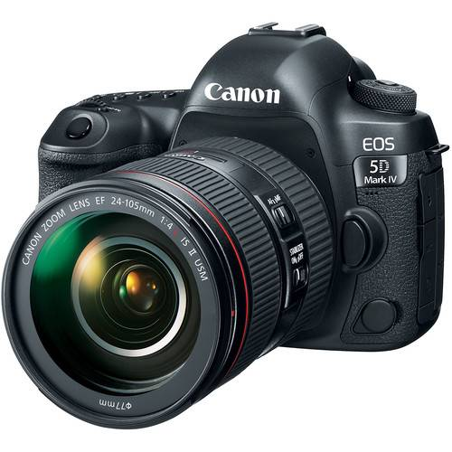 EOS 5D Mark IV DSLR Camera + 24-105mm f/4L II Lens