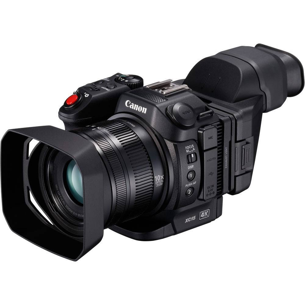 Canon XC-15 4K Professional Camcorder