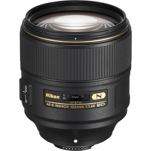 Nikon 105mm f/1.4E ED AF-S Nano Crystal Coat Lens  (On-Line Only)