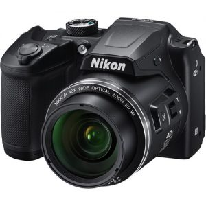 Nikon Coolpix B500 Black +Bag +16GB Card-0