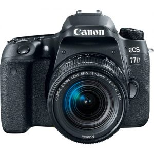Canon EOS 77D DSLR Camera with 18-55mm Lens (On Line Only)-4863