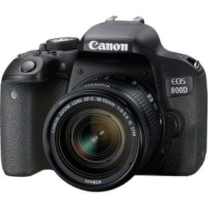 Canon EOS 800D Double IS Bundle