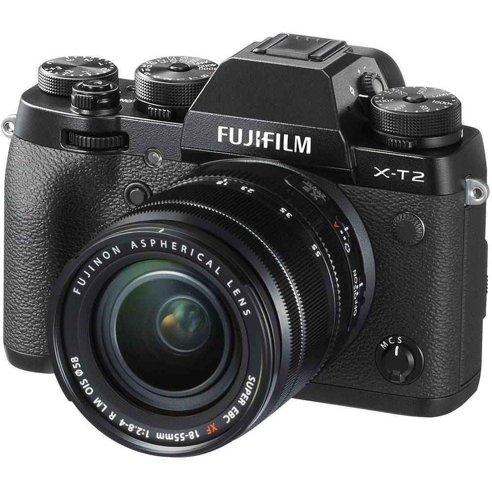 Fujifilm X-T2 Mirrorless with 18-55mm Lens FREE BATTERY GRIP-0