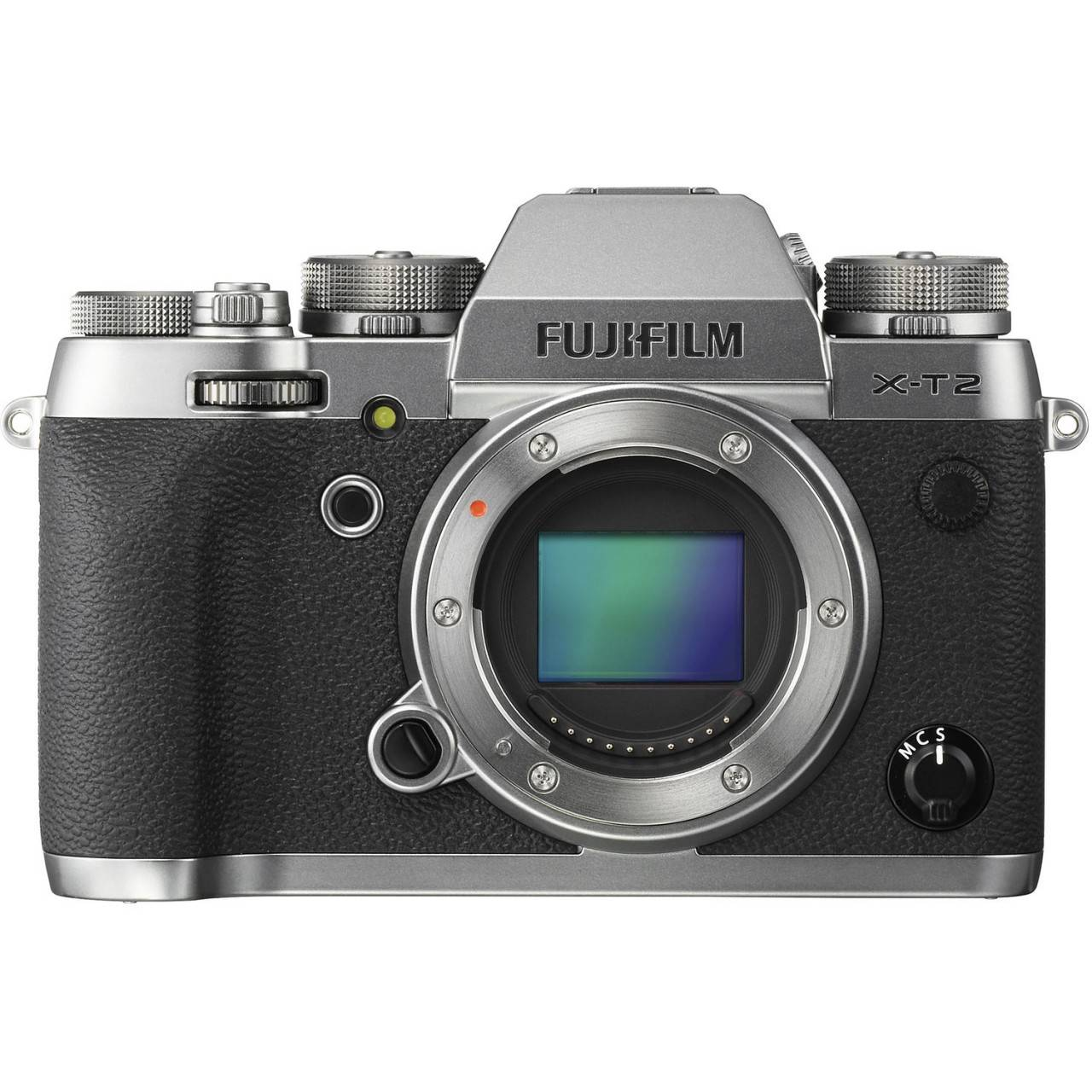 Fujifilm X-T2 Mirrorless Body (Graphite Silver Edition)-0