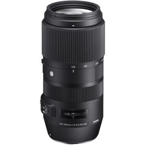Sigma Lens 100-400mm f/5-6.3 DG OS HSM Contemporary Lens for Canon EF