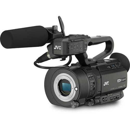 JVC GY-LS300CHE Super 35mm 4K/HD camcorder, no lens, Wi-Fi/FTP Body Only