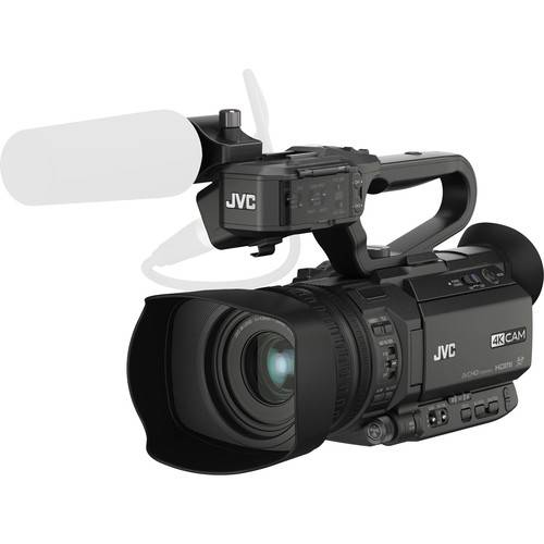 JVC GY-HM200 4KCAM Compact Handheld Streaming Camcorder