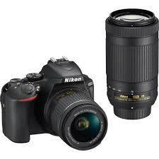 Nikon D5600 + AF-P 18-55MM VR + AF-P 70-300MM DX