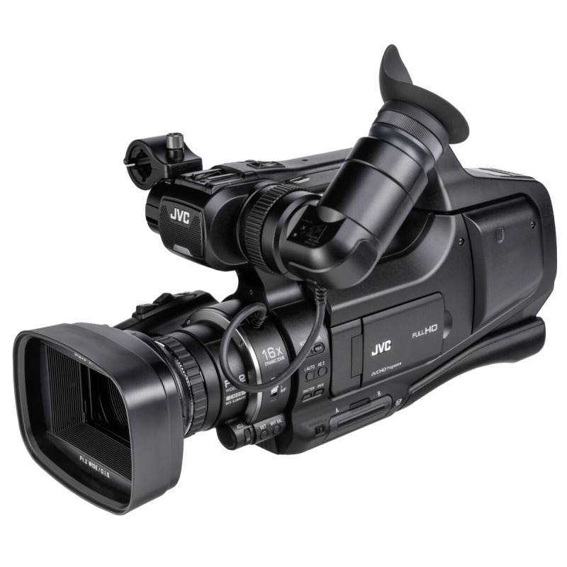 "JVC JY-HM70E "" HD events camcorder,  """