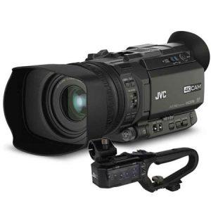 JVC GY-HM170 Handheld 4K/HD camcorder inc handle-0