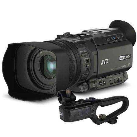 JVC GY-HM170 Handheld 4K/HD camcorder inc handle