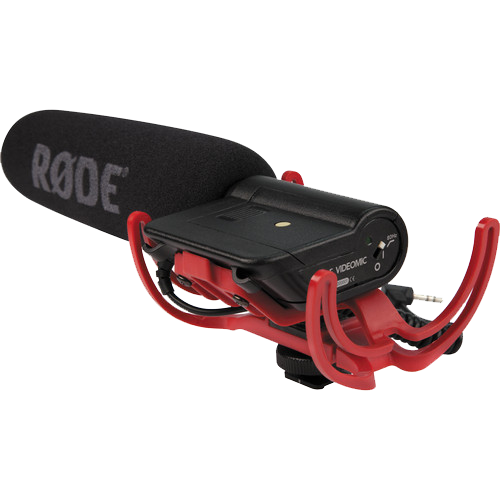 Rode VideoMic with Rycote Lyre Suspension System-0