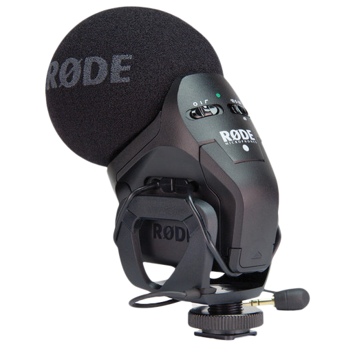 Rode Stereo VideoMic Pro - Camera Mounted Microphone-0