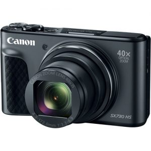 Canon PowerShot SX730 HS Digital Camera Black – Black
