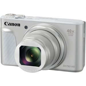 Canon PowerShot SX730 HS Digital Camera Black – Silver
