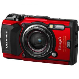 Olympus TG-5 Action Camera – Red