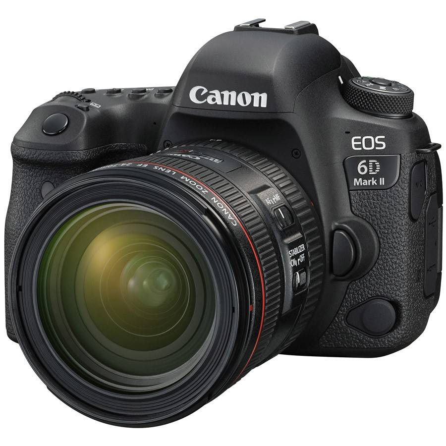 Canon EOS 6D Mark II & 24-70 F4 L Lens Kit (On Line Only)-0