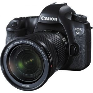 Canon EOS 6D Mark II & 24-105 IS STM Lens Kit