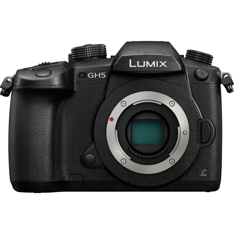 Panasonic Lumix DC-GH5 Mirrorless Micro Four Thirds Digital Camera with 12-60mm Lens -5167