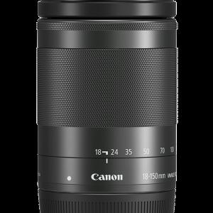Canon EF-M 18-150mm F3.5-6.3 IS STM Black-0
