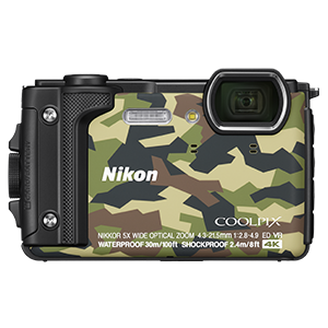 Nikon Coolpix W300 Action Camera – Camo