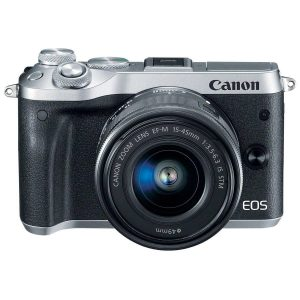 Canon EOS M6 EF-M 15-45mm IS STM Kit Black (On Line Only)-0