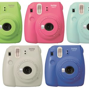 Fuji Instax Mini 9 Ice Blue Camera-0