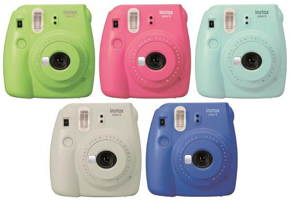 Fuji Instax Mini 9 Ice Blue Camera-0