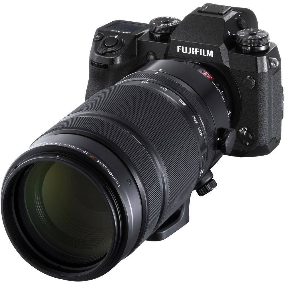 Fujifilm X-H1 Mirrorless Camera with 100-400mm Lens