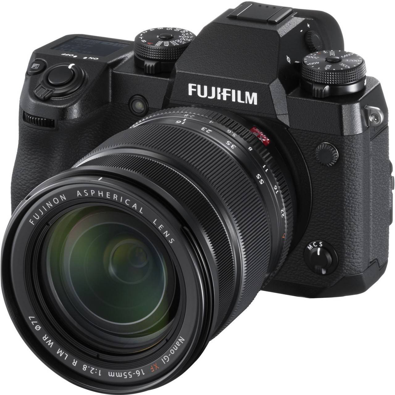 Fujifilm X-H1 Mirrorless Camera with 16-55mm Lens