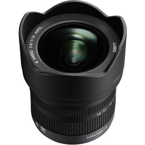 Panasonic 7mm-14mm f/4.0 Wide Angle Lens
