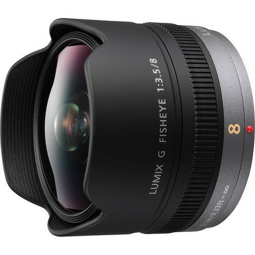 Panasonic 8mm f/3.5 Fish Eye Lens