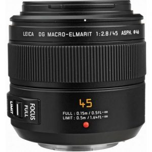 Panasonic 45mm f/2.8 Macro Lens-0