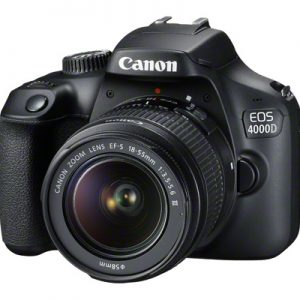 Canon EOS 4000D, EF-S18-55 F/3.5-5.6 III, Canon SB130 Bag, 16Gb SD Card-5401