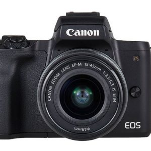 Canon EOS M50 Black 15-45 IS STM lens + 22mm STM Lens