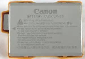 Canon LP-E5 Battery-5429