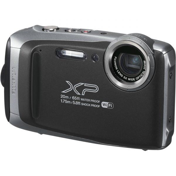 Fujifilm FinePix XP130 Digital Camera (Silver Grey) FREE DELIVERY-0