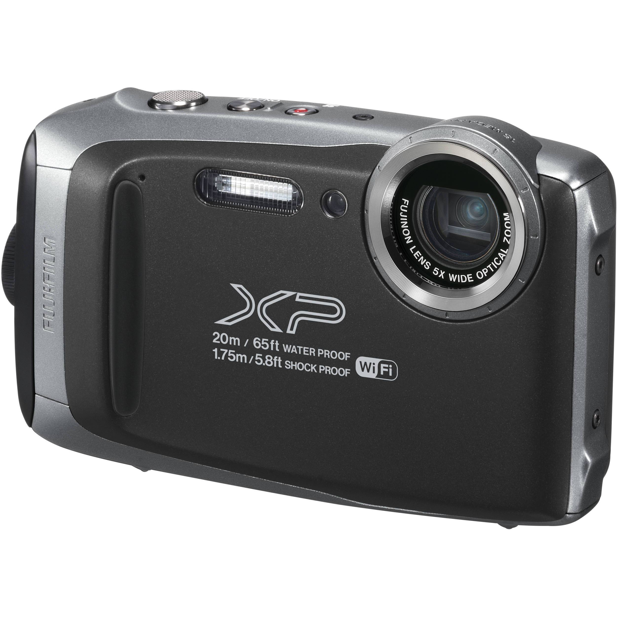 Fujifilm FinePix XP130 Digital Camera (Silver Grey) FREE DELIVERY-0