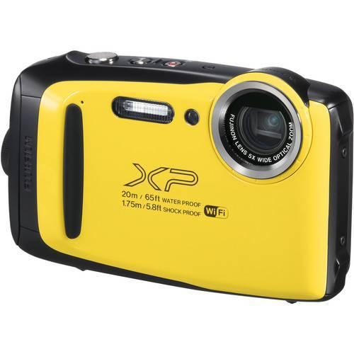 Fujifilm FinePix XP130 Digital Camera (Yellow) FREE DELIVERY-0
