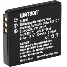 PANASONIC DMW-BCE10 (CGA-S008) Battery
