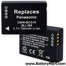 PANASONIC DMW-BCG10 Battery