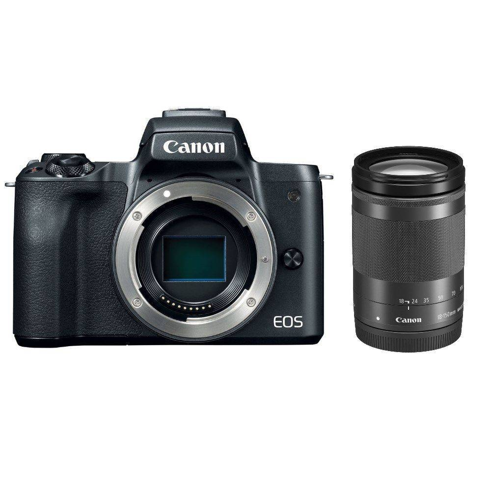 Canon EOS M50 Mirrorless Camera + EF-M 18-150mm  IS STM Lens