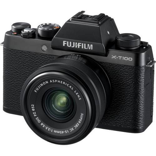 Fujifilm X-T100 15-45mm Lens Kit Black