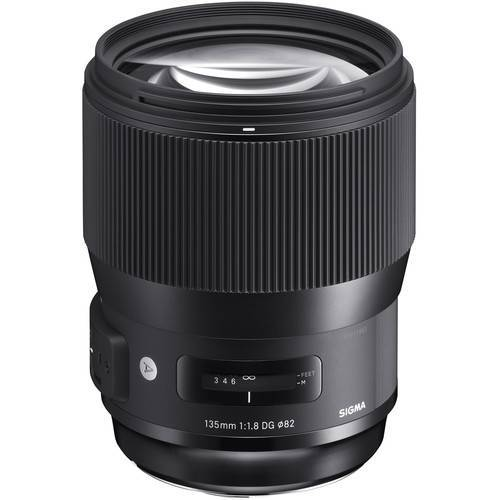 Sigma 135mm f/1.8 DG HSM Art Lens for Nikon EF