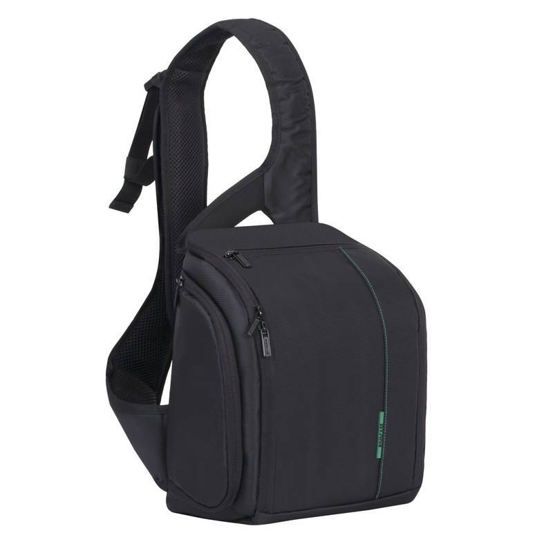 RivaCase 7470   Green Mantis Series SLR Sling Case Black