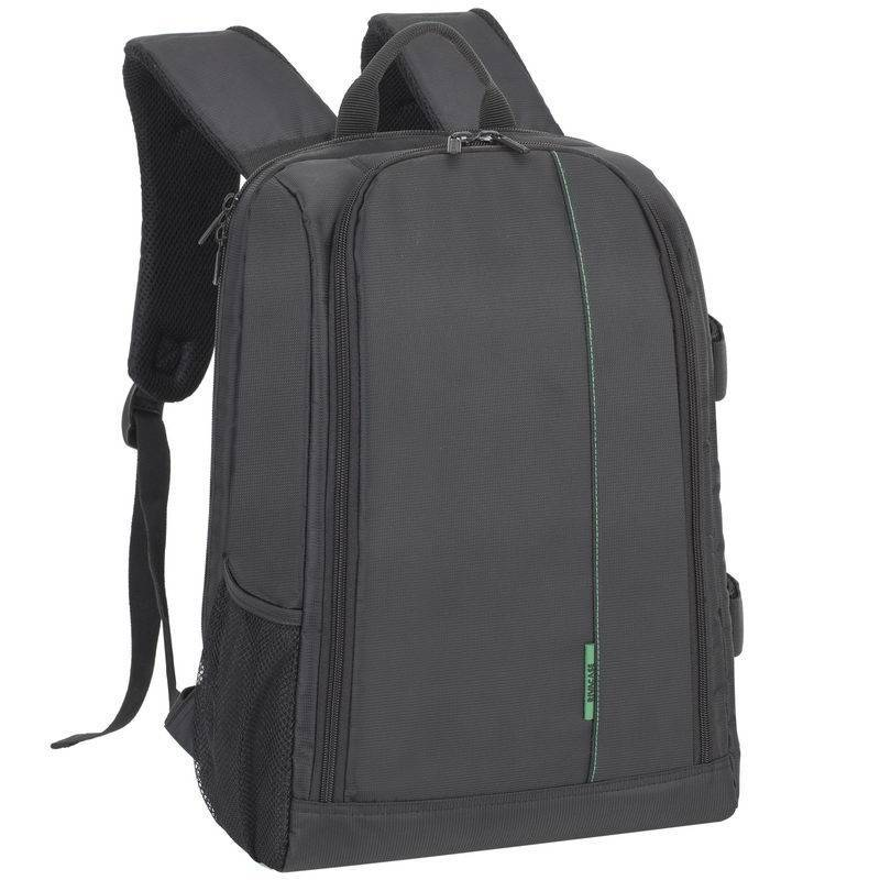 RivaCase 7490 (Lrg) Green Mantis Series SLR Backpack Black