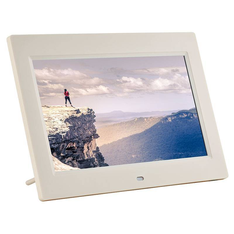 Fotomate FM430M 13″ Digital Photo Frame – Silver Metalic