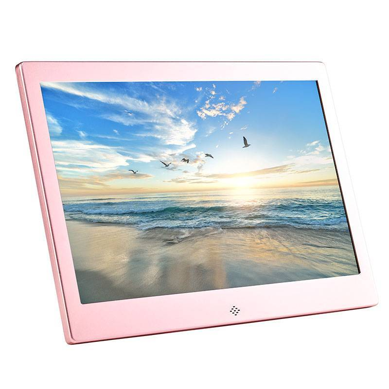Fotomate FM320M 10″ Digital Photo Frame – Rose Pink Metalic