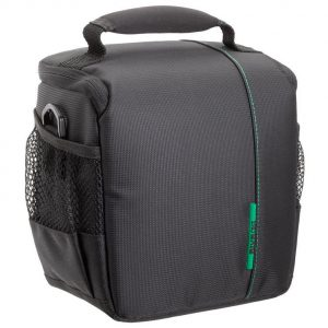 RivaCase 7420  Green Mantis Series SLR Shoulder Case Black  .