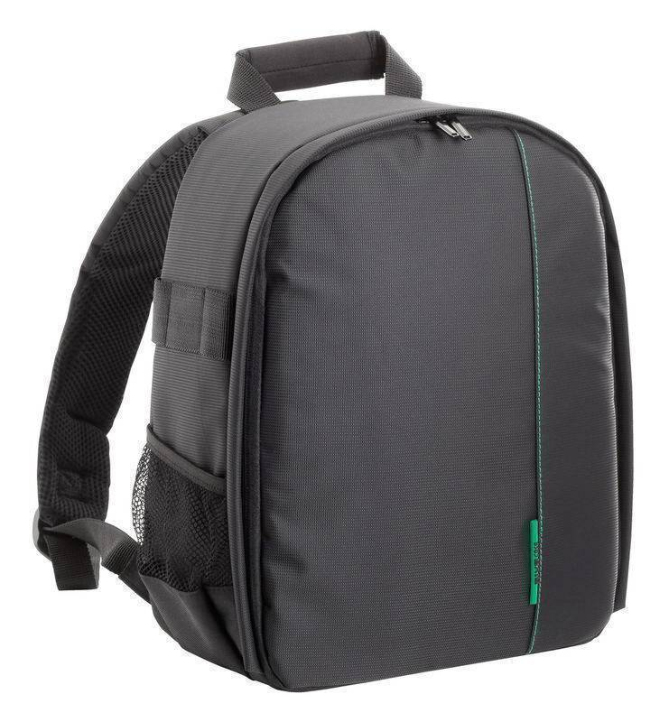 RivaCase 7460  Green Mantis Series SLR Backpack Black  .
